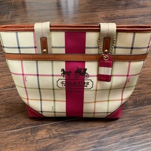 Coach Tattersall Tote